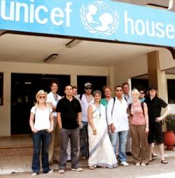 Ghanan Unicefin päämaja Accrassa.